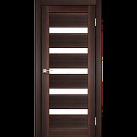 Дверь PORTO  PR-03. Со стеклом сатин (орех, дуб беленый, венге, дуб грей, дуб марсала). KORFAD (КОРФАД)