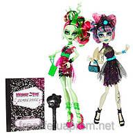 Набор кукол Монстер Хай Рошель Гойл и Венера Макфлайтрап Зомби Шейк (Танцы Зомби)