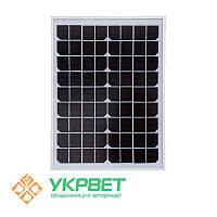 Солнечная панель для электроизгороди 10 Ват