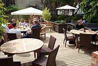Террасы из дерева для баров, ресторанов и кафе