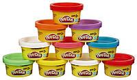 Набор пластилина для праздника из 10 мини-баночек в тубусе Play-Doh Hasbro (22037)