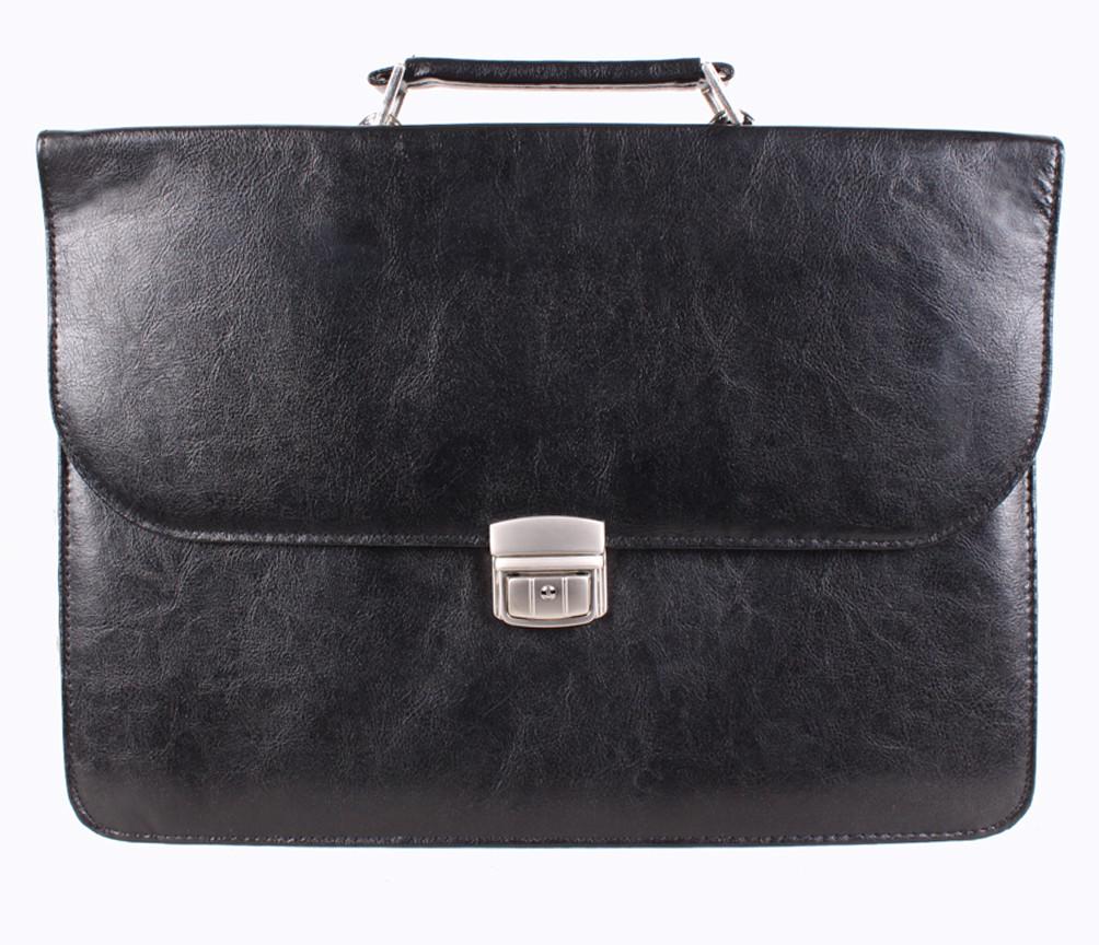 Мужской портфель из искусственной кожи 3037999 черный