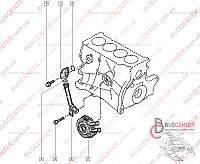 Фланец охлаждающей жидкости (трубное муфтовое соединение, колено) Renault Trafic (2000-2014) 7700113645 MC 03779