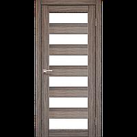 Дверь PORTO  PR-04. Со стеклом сатин (дуб грей, дуб беленый, венге, орех, дуб марсала). KORFAD (КОРФАД)
