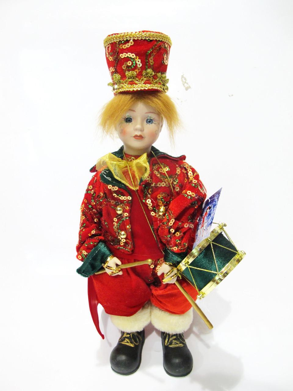 Новогодняя игрушка Барабанщик с музыкой