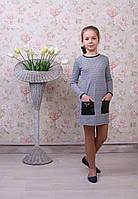 """Трикотажное платье для девочки """"Светлана"""""""