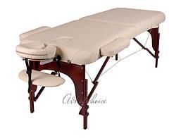Двухсекционны дерев'яний стіл BAS