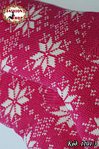 Женские шерстяные носки Снежинка с силиконовой подошвой , фото 3