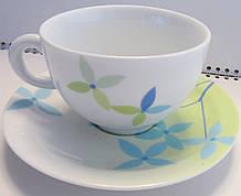 Набор чашек с блюдцами для чая Allure Форест