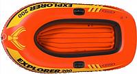 Одноместная надувная лодка Explorer 58329 (Intex), фото 1