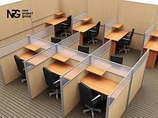 Офисные перегородки мобильные