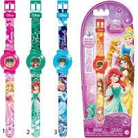 Часы Disney Princess (5 функций: месяц, дата, часы, минуты, секунды) DPRJ6
