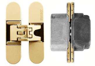 Скрытая дверная петля KOBLENZ Kubica 6200 золото