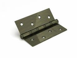 Петля дверная универсальная врезная FUARO 4BB 100x75x2,5 AB (бронза), 1 шт