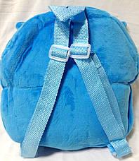 Рюкзак детский розовый Зверята 1087-9 Сова, фото 2