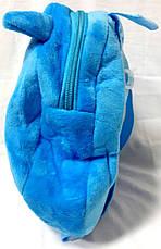 Рюкзак детский розовый Зверята 1087-9 Сова, фото 3