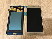 Дисплей на Samsung J700 Galaxy J7 Золото(Gold),GH97-17670B, Super AMOLED! , фото 1