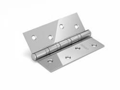 Петля дверная универсальная врезная FUARO 4BB 100x75x2,5 CP (хром), 1 шт.