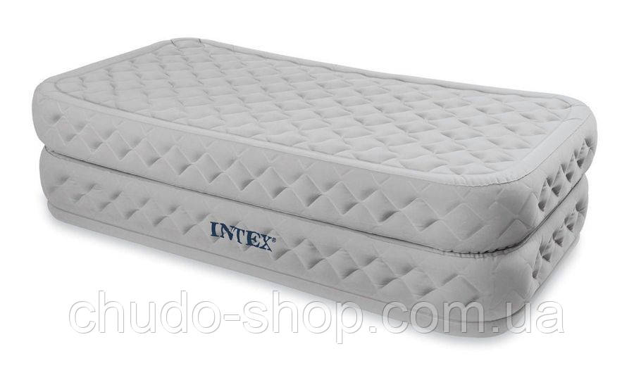 Велюр кровать 66964 (2см) со встроенным насосом 220В 99-191-51см