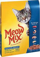 Meow Mix Seafood Medley для взрослых кошек 6.44 кг