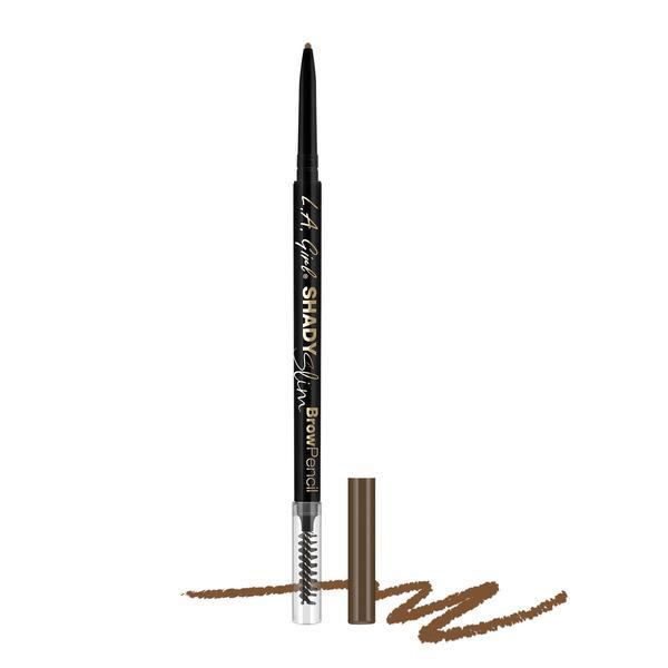 L.A.Girl GB353 Shady Slim Brow Pencil Soft Brown - Карандаш для бровей (для темно-русых и светло-каштановых)