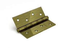 Петля дверная универсальная врезная FUARO 4BB 100x75x2,5 WAB (мат. бронза), 1 шт