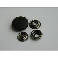 Кнопка №61 с пластиковой шляпкой 20 мм - белая, черная