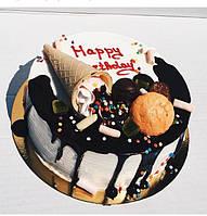 Торт  в стиле Рустик на день рождение