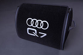 Сумка-органайзер в багажник Star-Tex Audi Q7 черный 45L