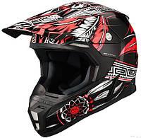 "Шлем MT SYNCHRONY NATIVE black\white\red ""M"", арт. 10290293"