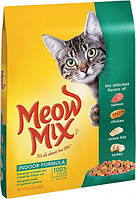 Meow Mix Indoor Formula для взрослых кошек 6.44 кг
