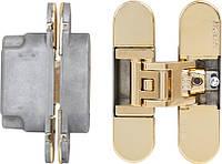 Скрытая дверная петля KOBLENZ Kubica 6700 золото