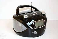 Бумбокс радио RX 669Q Golon, MP3, FM, USB/SD, антенна, LED дисплей, 6Вт, пульт ДУ, 21*12,8 см
