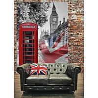"Фотообои ""Телефонная будка. Лондон"" 184х254 см"