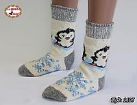 Женские шерстяные носки Пингвин