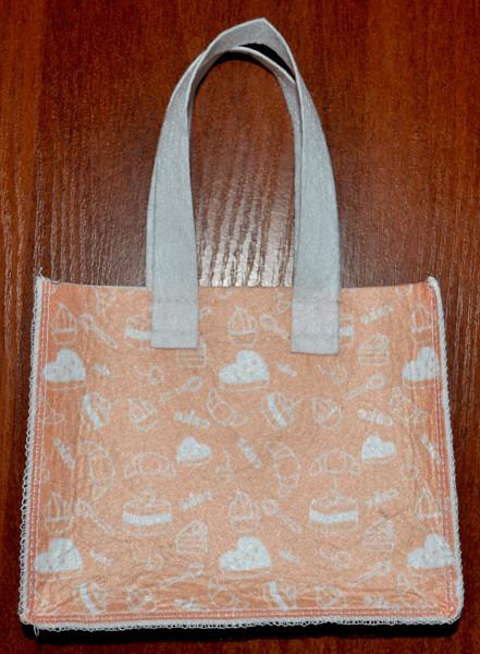 Подарункова сумочка з фетру 005.