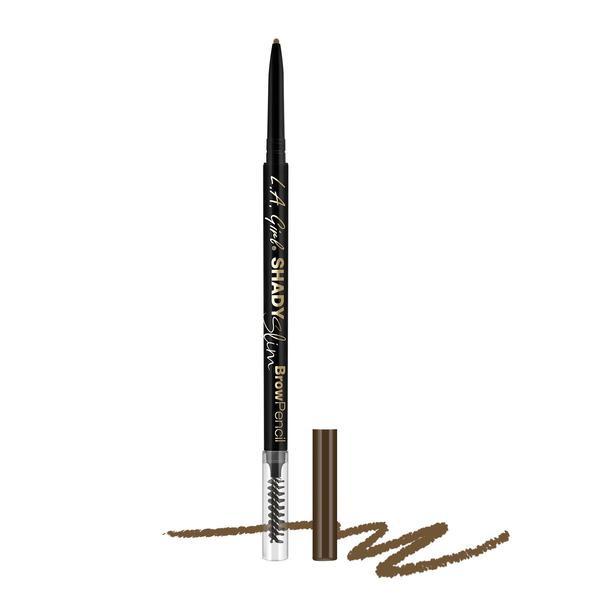 L.A.Girl GB355 Shady Slim Brow Pencil Warm Brown-Карандаш для бровей (для средне-коричневых волос)