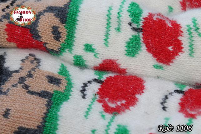 Женские шерстяные носки Ежик, фото 2