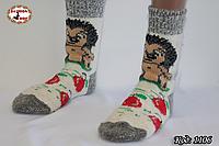 Женские шерстяные носки Ежик