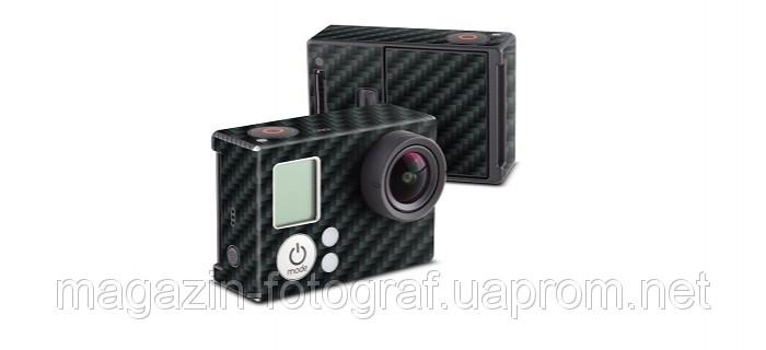 Carbon виниловая наклейка для камеры GoPro HERO3 gph3-carbon