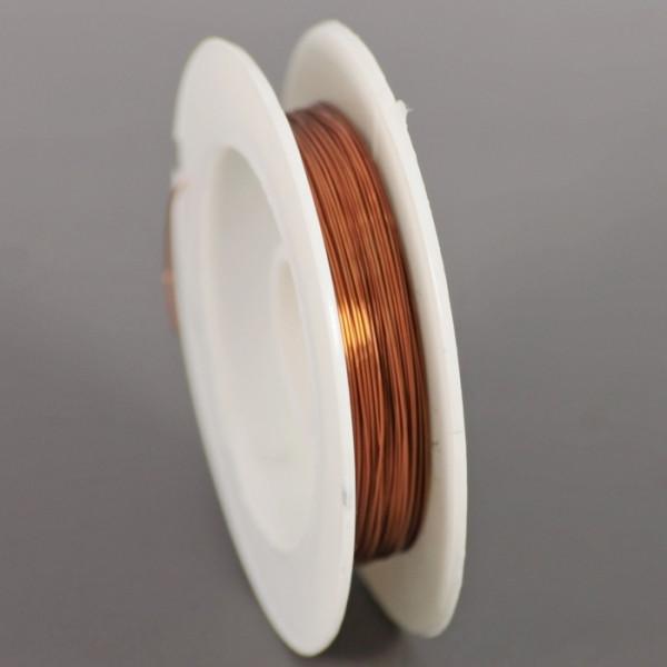 Проволока 0,3 мм, коричневая