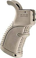 Рукоятка пистолетная FAB Defense AGR-43 прорезиненная для M4/M16/AR15 песочный, фото 1