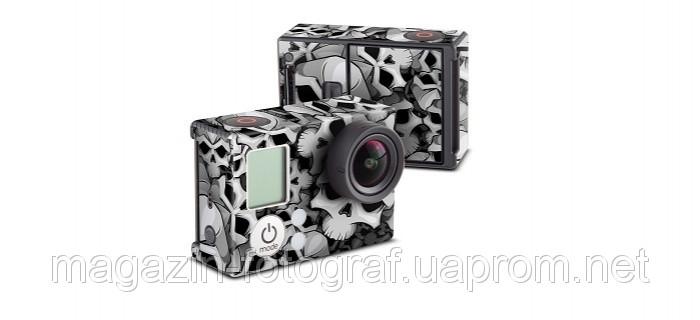 Bones наклейка Decal Girl для камеры GoPro HERO3 gph3-bones