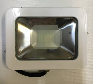 Светодиодный прожектор PREMIUM Slim SMD SL-4008 20W 6500K IP65 белый антибликовый Код.57012, фото 2