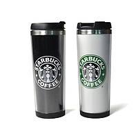 Термокружка Starbucks 380 мл чёрная, фото 1