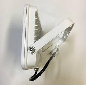 Светодиодный прожектор PREMIUM Slim SMD SL-4008 50W 6500K IP65 белый антибликовый  Код.57015, фото 2