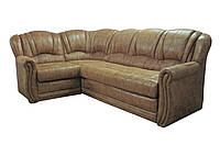 """Раскладной кожаный угловой диван  """"Бриз"""". (260*180 см)"""
