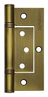Петля универсальная без врезки 300-2BB 100x2,5 WAB (мат. бронза), 1 шт.