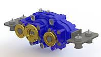 Сплит вал (Split shaft) отбора мощности (редуктор) горизонтальный для многотоннажных машин