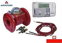 Счетчик тепла (теплосчетчик, тепломер) Apator LQM-III-FAUN 200 DN-200 механический промышленный